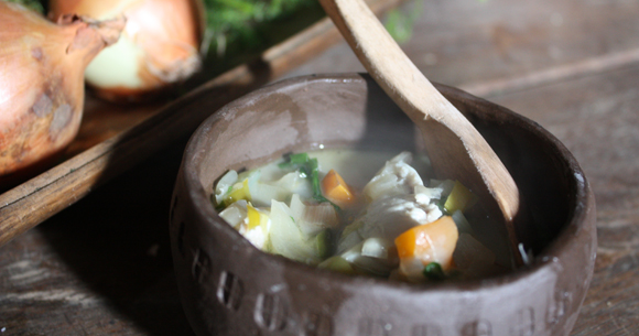 fiskesuppe - Viking fish soup recipe from Eat Smart in Denmark